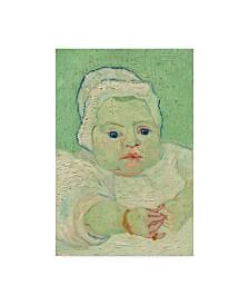 "Vincent Van Gogh 'Roulins Baby' Canvas Art - 47"" x 30"""