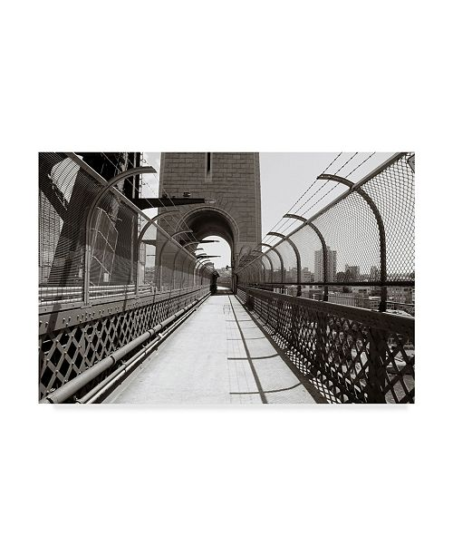 "Trademark Global Incredi 'Underpass' Canvas Art - 32"" x 22"""