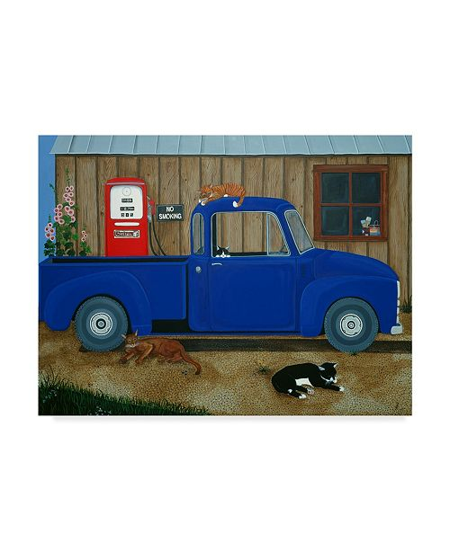 """Trademark Global Jan Panico 'Its Ours For The Weekend' Canvas Art - 32"""" x 24"""""""