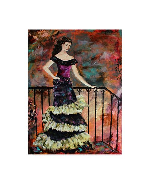 "Trademark Global Janelle Nichol 'Interlude' Canvas Art - 35"" x 47"""