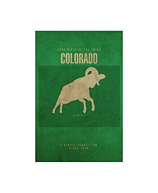 "Red Atlas Designs 'State Animal Colorado' Canvas Art - 30"" x 47"""