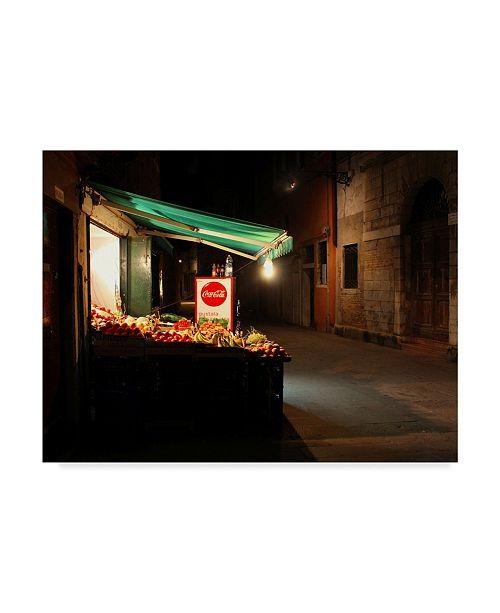 "Trademark Global Les Mumm 'Late Night Snack' Canvas Art - 47"" x 35"""