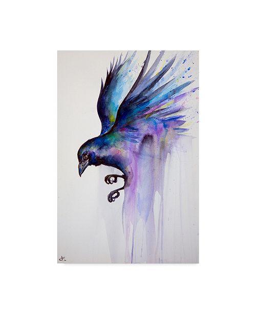 "Trademark Global Marc Allante 'Nevermore' Canvas Art - 30"" x 47"""