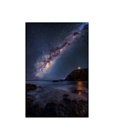 "Lincoln Harrison 'Celestial Lights' Canvas Art - 30"" x 47"""