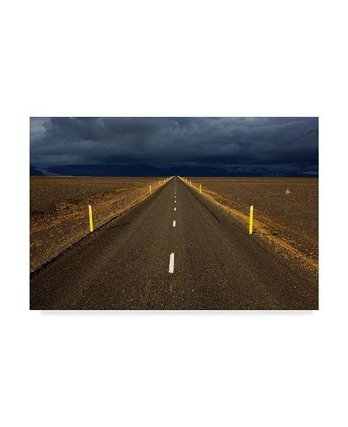 "Trademark Global Maciej Duczynski 'Iceland Landscape 5' Canvas Art - 32"" x 22"""