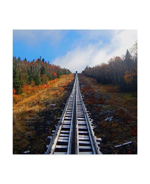 "Trademark Global Nina Marie 'Cog Rail' Canvas Art - 35"" x 35"""