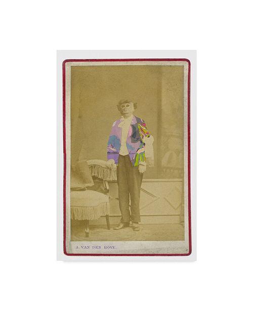 "Trademark Global Philippe Debongnie 'Family Album Antoine' Canvas Art - 30"" x 47"""