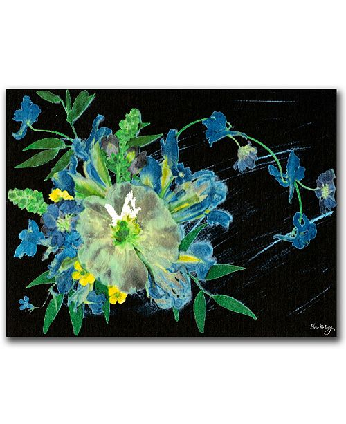 "Trademark Global Meteor Shower by Kathie McCurdy Canvas Art - 24"" x 18"""