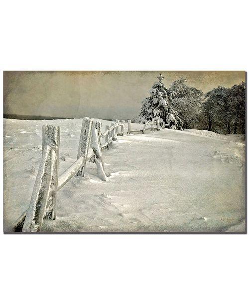 "Trademark Global Lois Bryan 'Mother Nature's Christmas Tree' Canvas Art - 32"" x 22"""