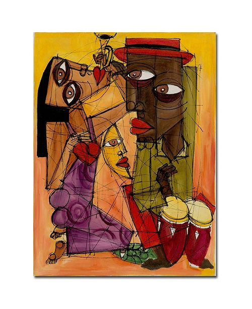 "Trademark Global Dieguez 'Tu Miranda II' Canvas Art - 32"" x 24"""