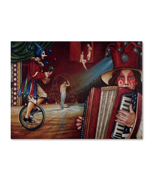"Trademark Global Edgar Barrios 'Spectator' Canvas Art - 24"" x 18"""