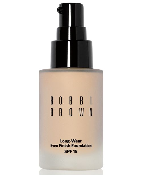 Bobbi Brown Long-Wear Even Finish Foundation SPF 15, 1 oz