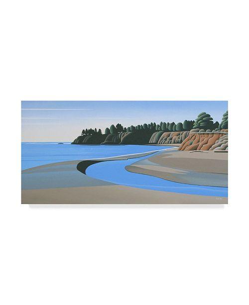"""Trademark Global Ron Parker 'Red Bluffs' Canvas Art - 12"""" x 24"""""""