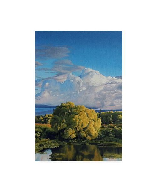 "Trademark Global Ron Parker 'Springtime' Canvas Art - 12"" x 19"""