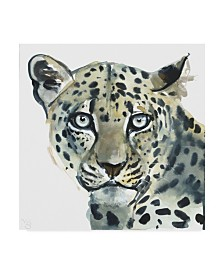 "Mark Adlington 'Leopard' Canvas Art - 14"" x 14"""