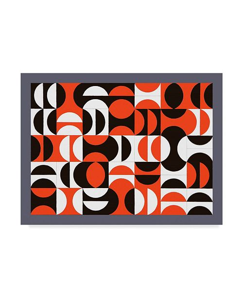 "Trademark Global Peter McClure 'Segmentation' Canvas Art - 14"" x 19"""