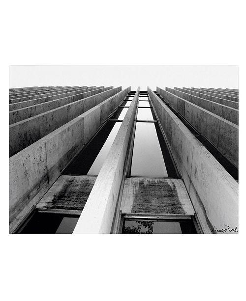 "Trademark Global Miguel Paredes 'Skyscraper' Canvas Art - 14"" x 19"""
