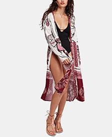 Free People C'est Moi Maxi Kimono