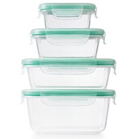 OXO Smart Seal 20-Pc. Plastic Food Storage Container Set Deals