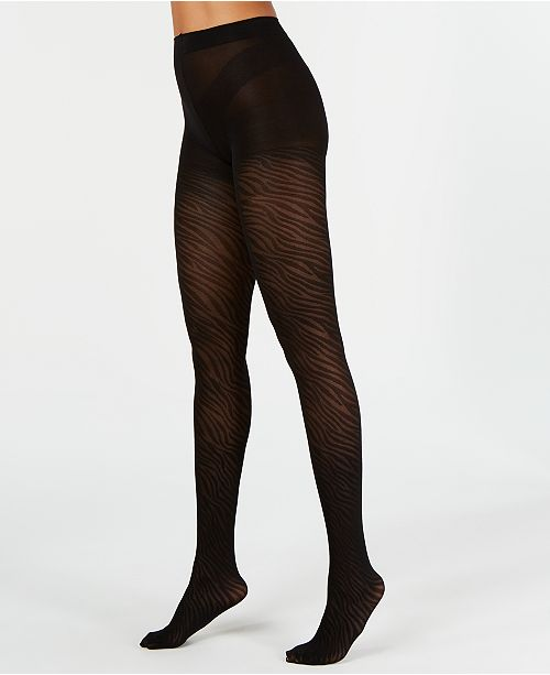 INC International Concepts INC Zebra Tights, Created for Macy's
