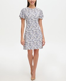 Tommy Hilfiger Printed Jersey Dress