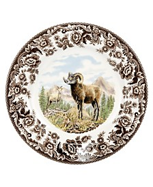 Spode Woodland  Bighorn Sheep Salad Plate