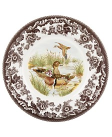 Spode Woodland Duck Luncheon Plate