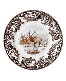 Woodland Elk Dinner Plate