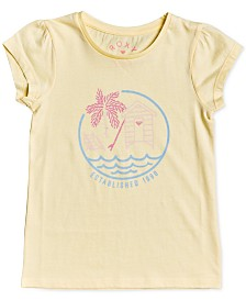 Roxy Little Girls Back to the Start Graphic Cotton T-Shirt