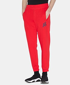 ffb5749767a8 Armani Exchange Men's Logo Graphic Fleece Joggers