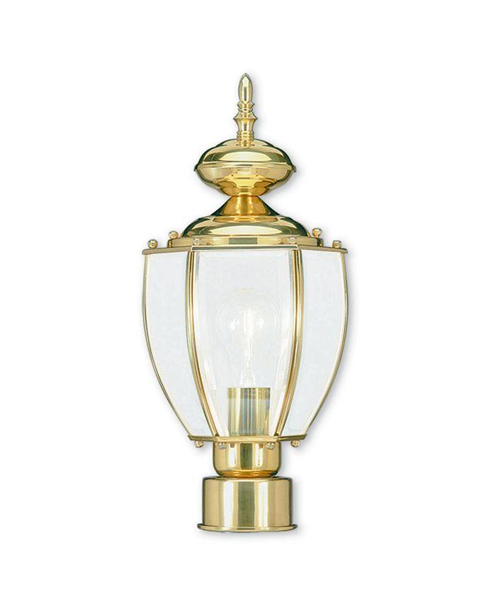 Livex - Classic 1-Light Outdoor Post Lantern