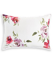 "Classic Jardin Cotton 20"" x 28"" Standard Sham, Created for Macy's"