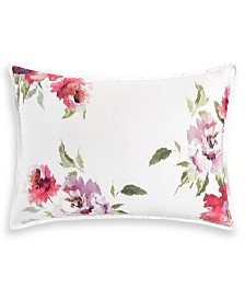 "Hotel Collection Classic Jardin Cotton 20"" x 28"" Standard Sham, Created for Macy's"
