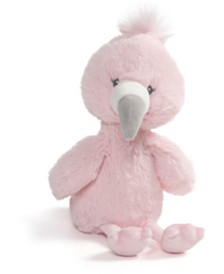 Gund® Baby Boys or Girls Baby Toothpick Flamingo Plush Toy