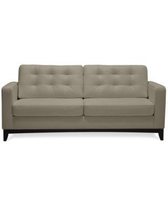 Furniture Sivri 79 Leather Sofa