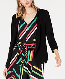 Open-Front Tie-Side Jacket, Created for Macy's