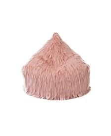 Himalaya Faux Fur Beanbag Lounger Chair with Storage