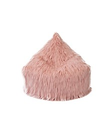 Mimish Himalaya Faux Fur Beanbag Lounger Chair with Storage