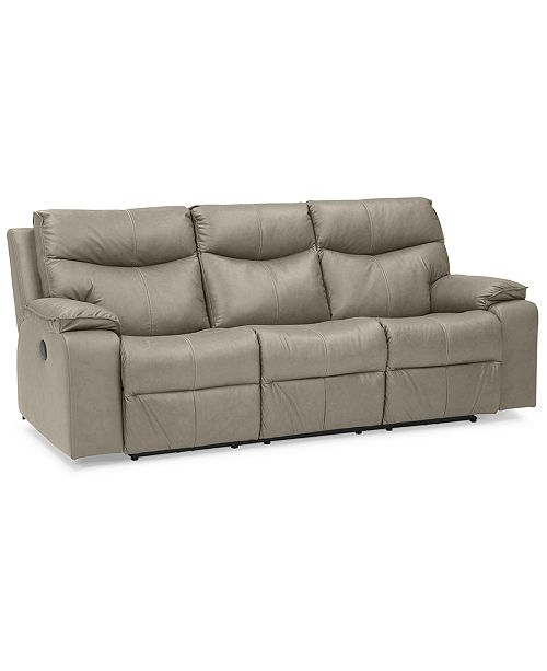 Furniture Ronse 88 Leather Sofa With 2