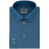 Kenneth Cole Unlisted Mens Slim-Fit Solid Dress Shirt Deals