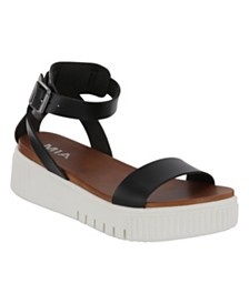 MIA Lunna Platform Sneaker Bottom Sandals