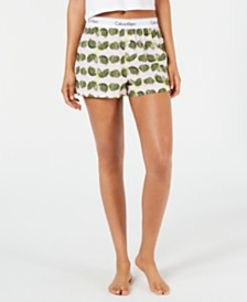 Calvin Klein Women's Modern Cotton Pajama Shorts QS6080