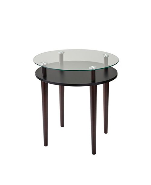 Adesso Dwight End Table, Quick Ship