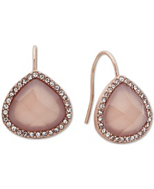 lonna & lilly Gold-Tone Stone Teardrop Earrings
