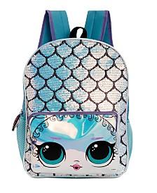 FAB Little & Big Girls LOL Surprise Reversible-Sequin Mermaid Backpack
