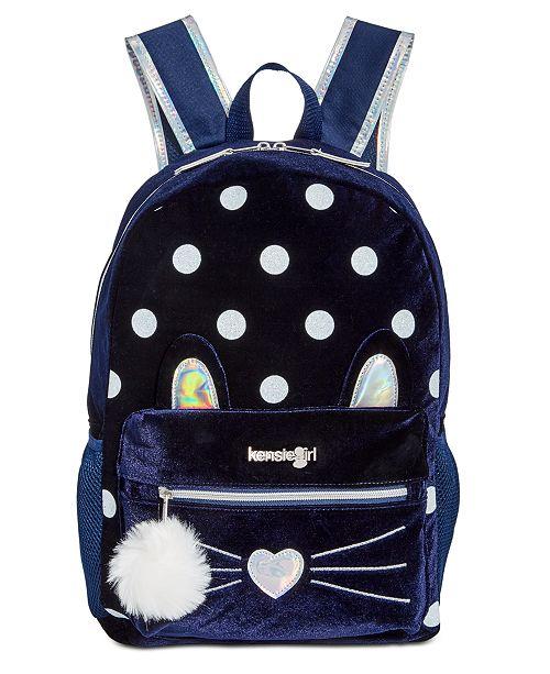 Kensie Girl Little & Big Girls Kitty Backpack