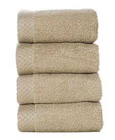 4 Pack of Washcloths, Washcloth Set