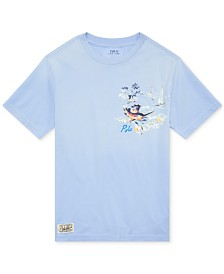 Polo Ralph Lauren Little Boys Graphic T-Shirt