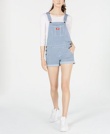 Dickies Striped Denim Overalls
