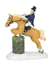 Victorian Show Jumping Figurines
